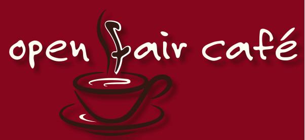 Open fair cafe